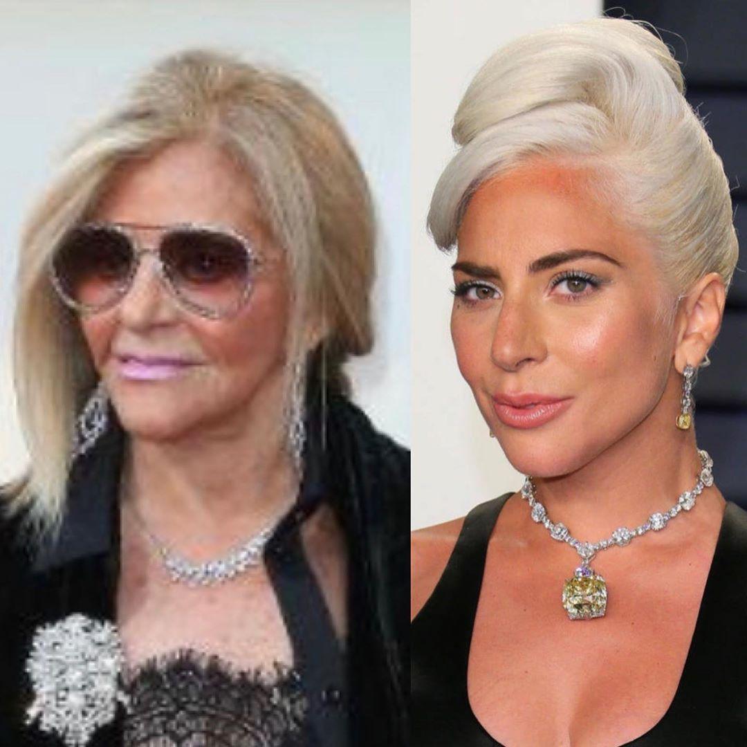 Глория Купер и Леди Гага