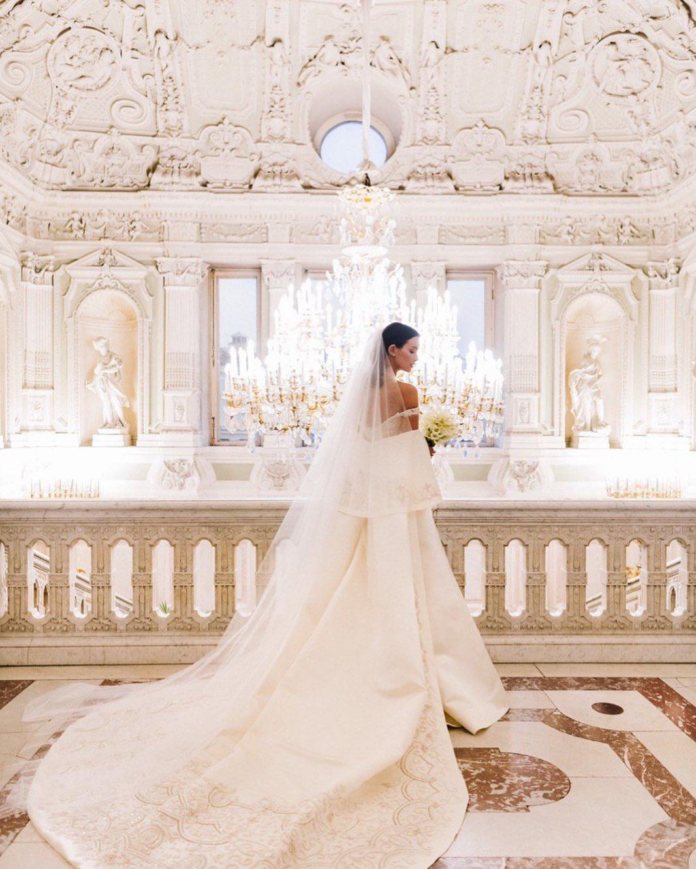 Свадебное платье Паулины Анлдреевой