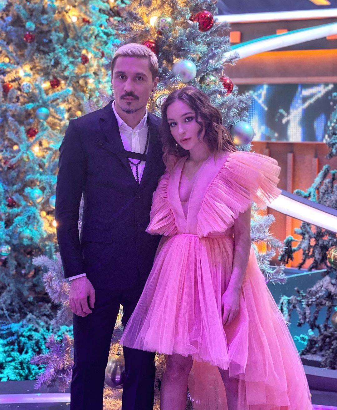 Дима Билан с младшей сестрой Аней
