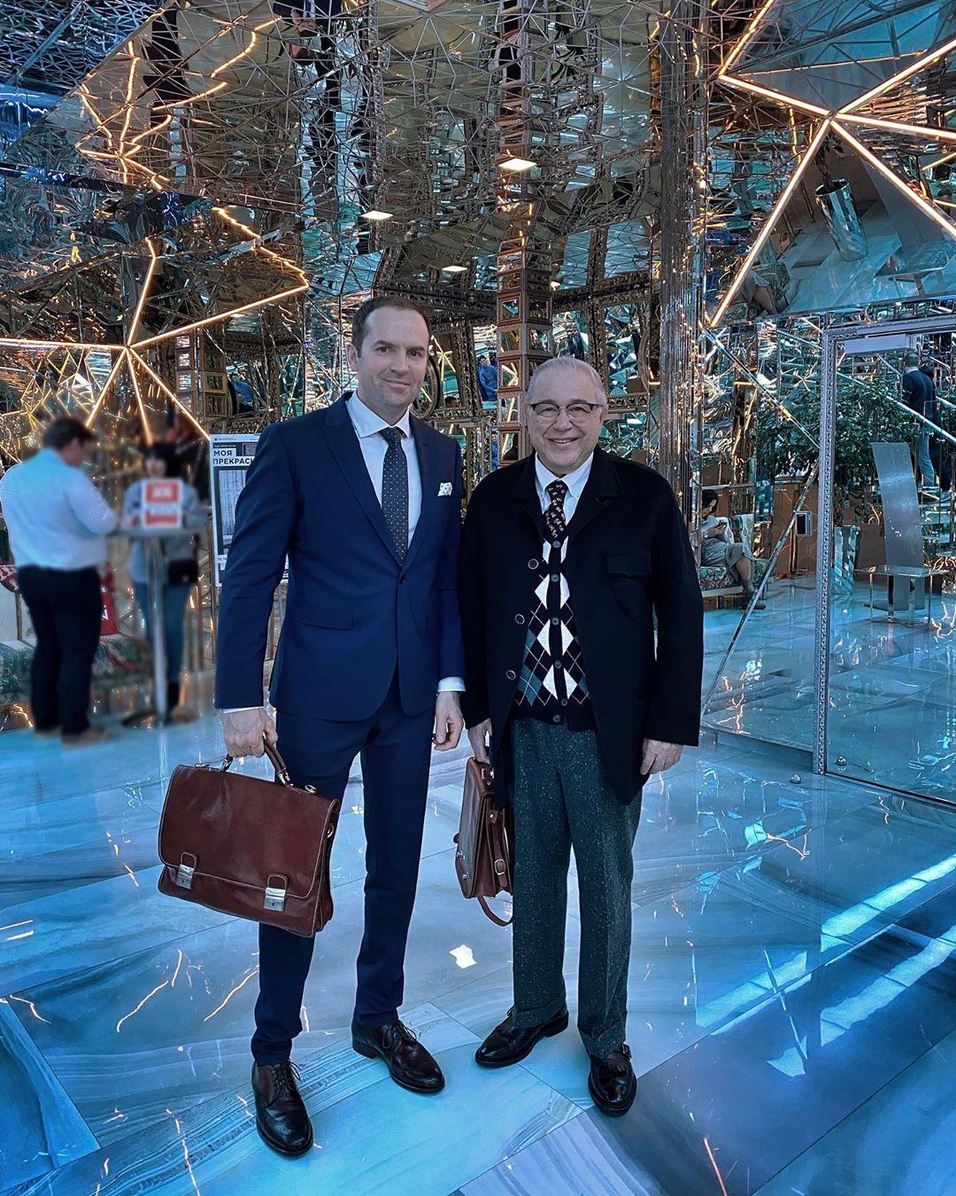 Сергей Жорин и Евгений Петросян
