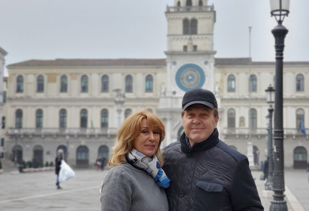 Лев Лещенко с женой Ириной
