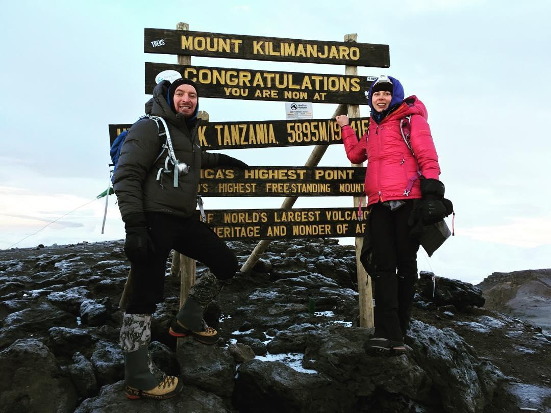 В январе 2016 года Екатерина с мужем Дмитрием Кленовым покорила гору Килиманджаро. А через несколько месяцев супруги развелись.