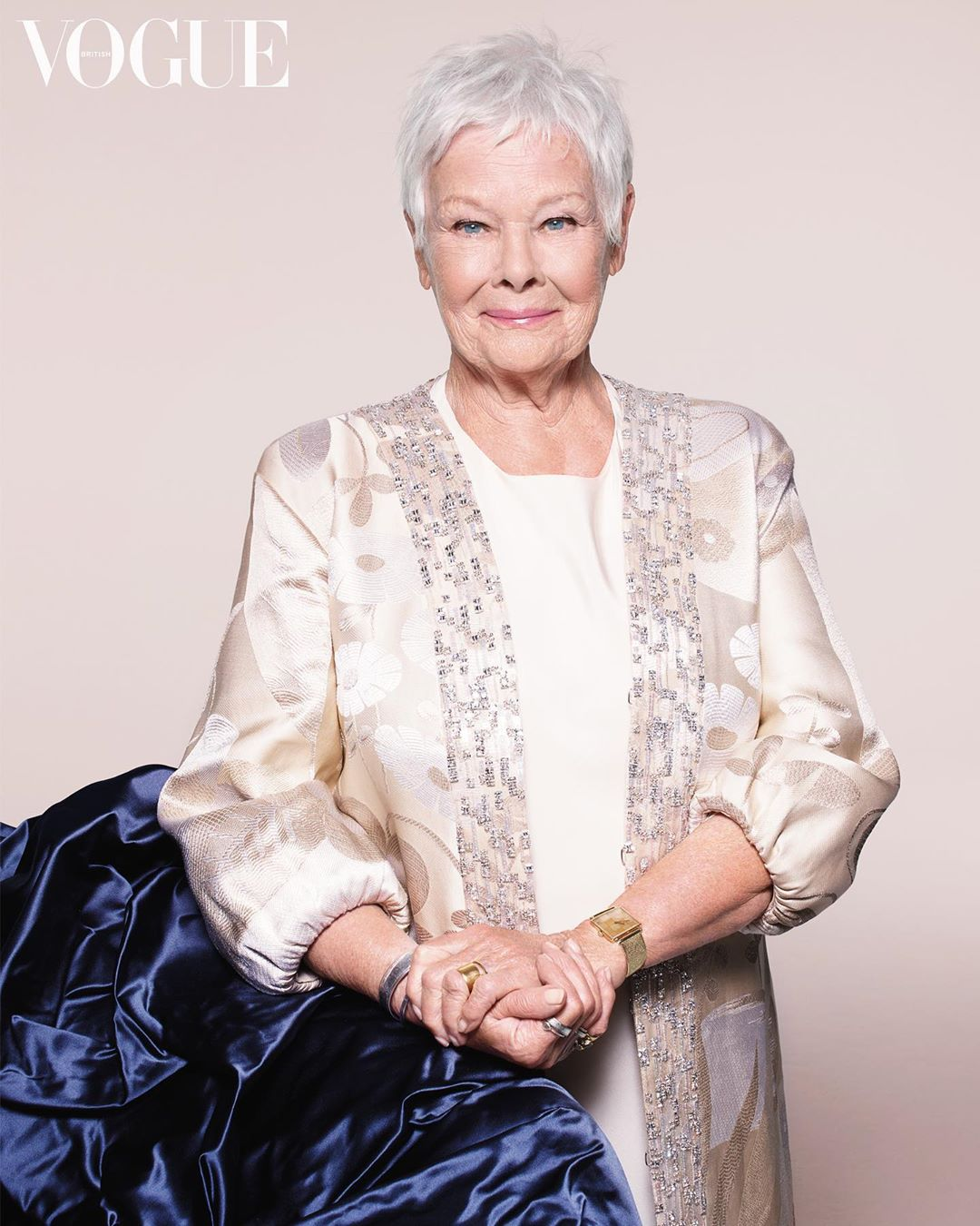 In uncertain times, Dame Judi Dench is comfort personified.