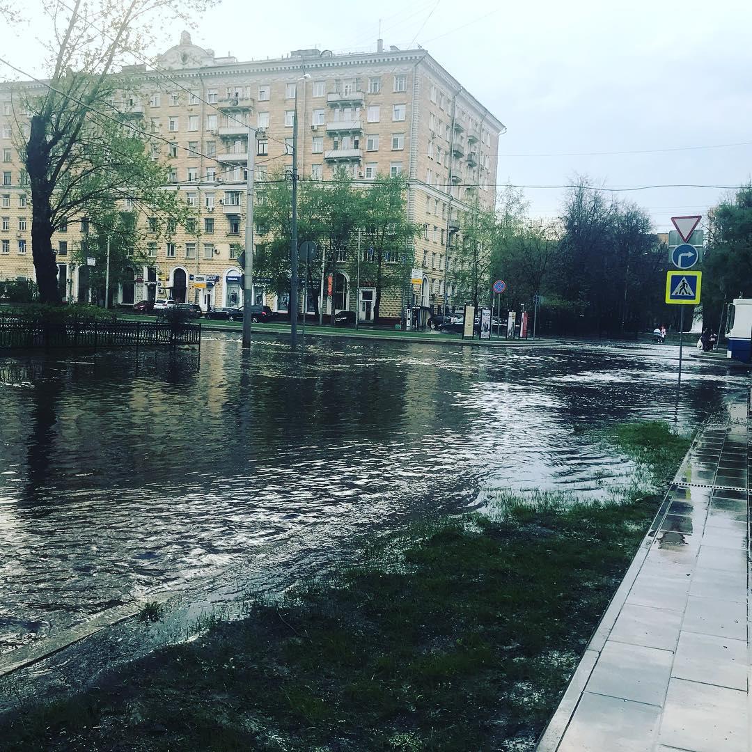#москва #дождь #майскиепраздники