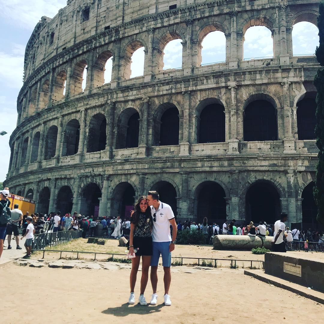 Денис Черышев и Кристина Кобе в Италии