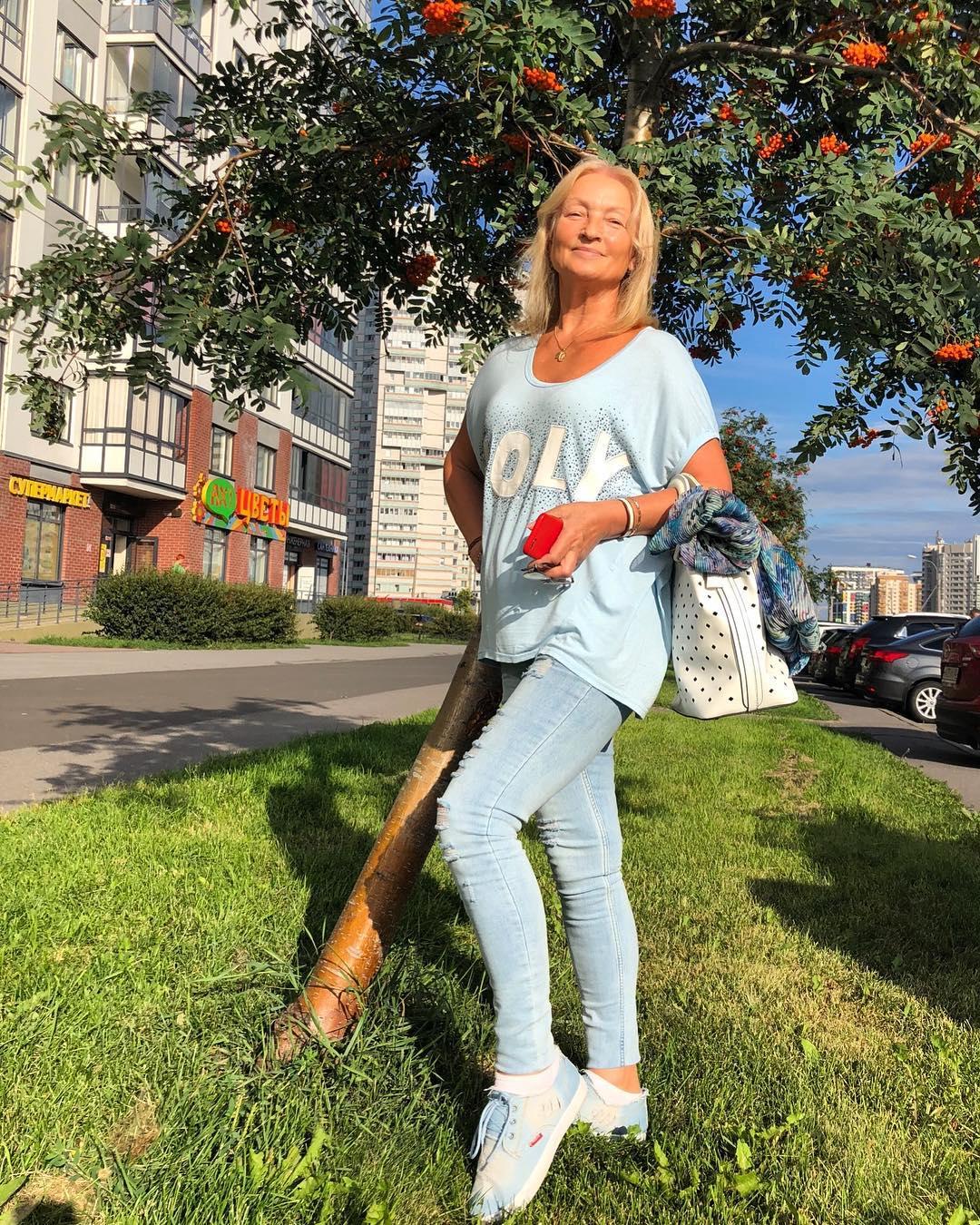 Тамара Волочкова прекрасно выглядит для 67 лет
