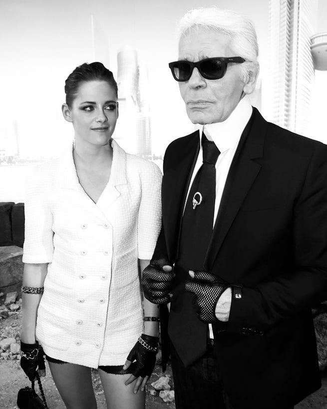 """Кутюрье не раз заявлял, что звезда саги """"Сумерки"""" - идеальное воплощение современного образа Chanel"""