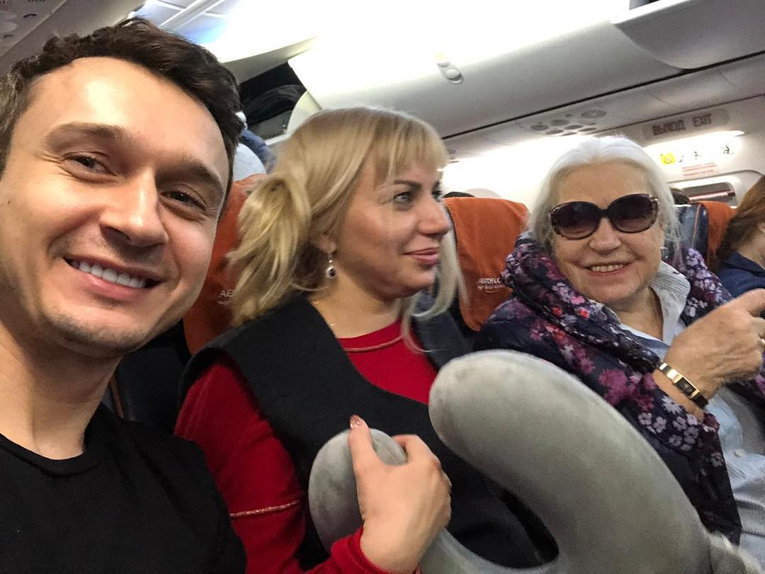 Лида Шукшина на пути в Испанию...