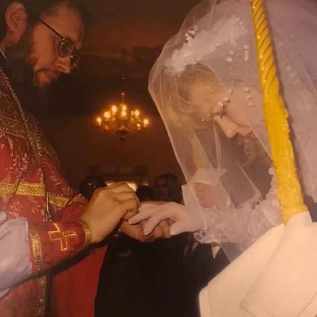 20 лет со дня нашего венчания. Лёшка! Мой самый прекрасный в мире муж!