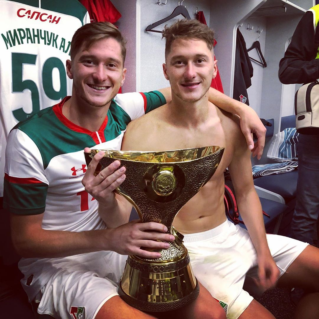 Алексей и Антон после одно из матчей