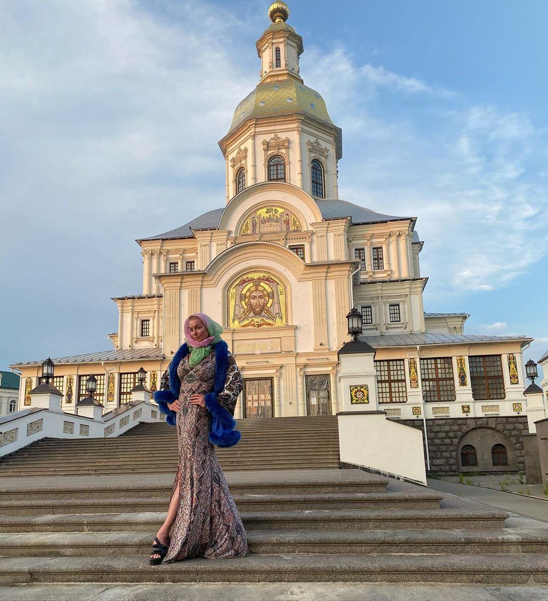 Жителей Дивеевского монастыря балерина называет не иначе как замечательными