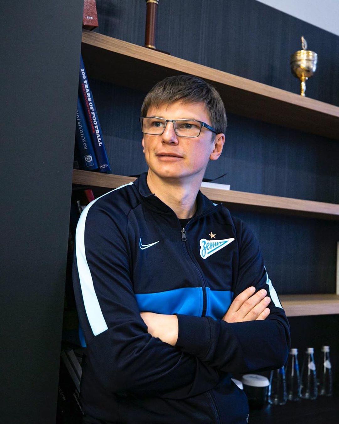 Андрей Аршавин пожаловался, что все его кубки забрала Юлия Геннадьевна.