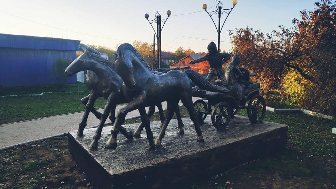 И снова Черемхово! Много там скульптур