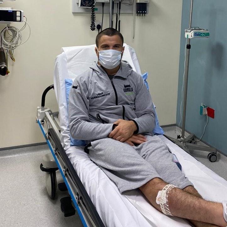 Умар Нурмагомедов в больнице