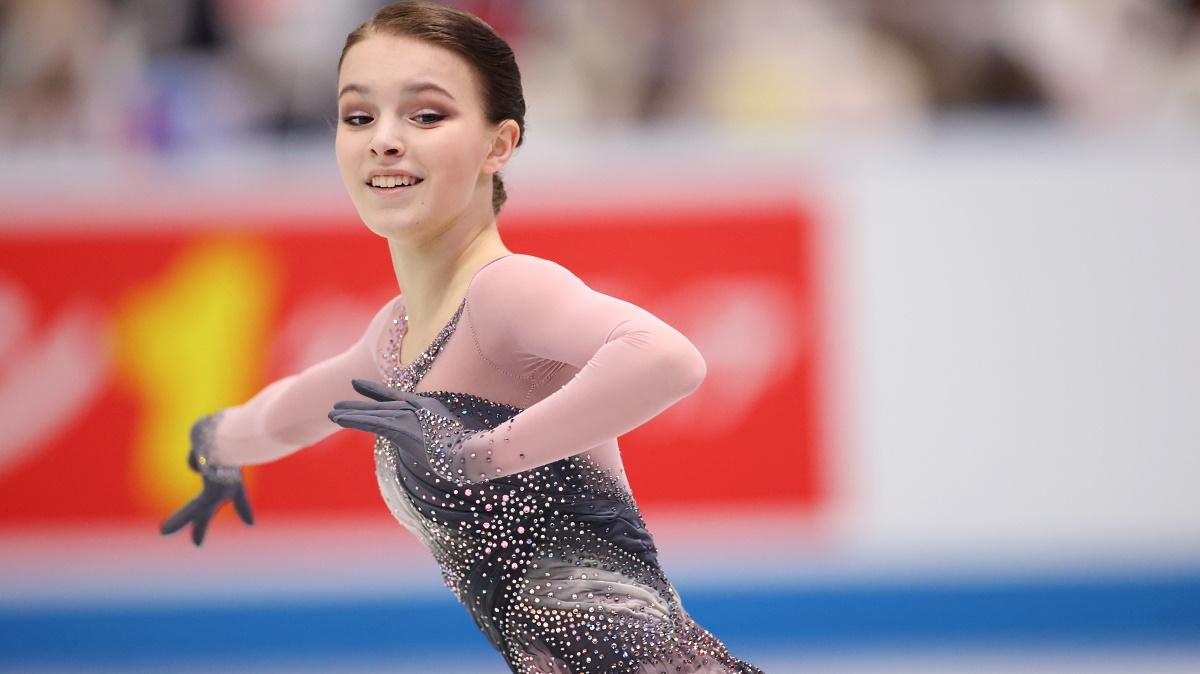 Анна Щербакова продолжает тренировки и готовится к сезону. Фото: GLOBAL LOOK PRESS