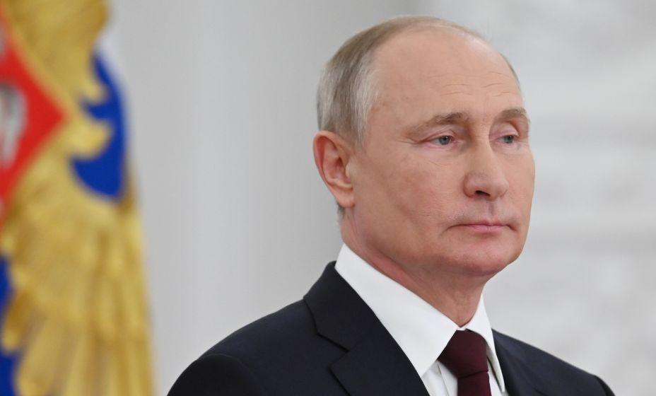 Президент РФ Владимир Путин ввел нерабочие дни в России. Фото: Global Look Press