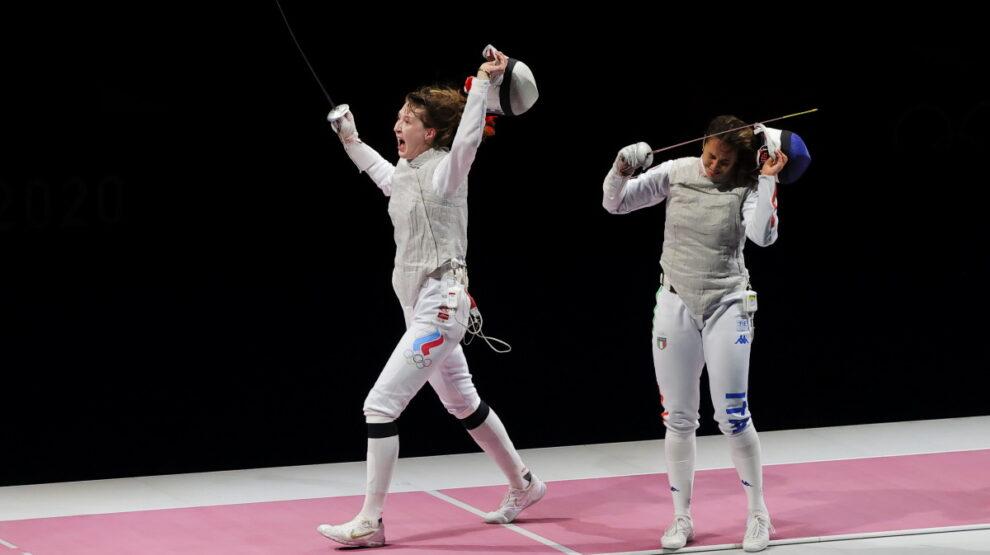 Коробейникова - фехтование - Олимпиада