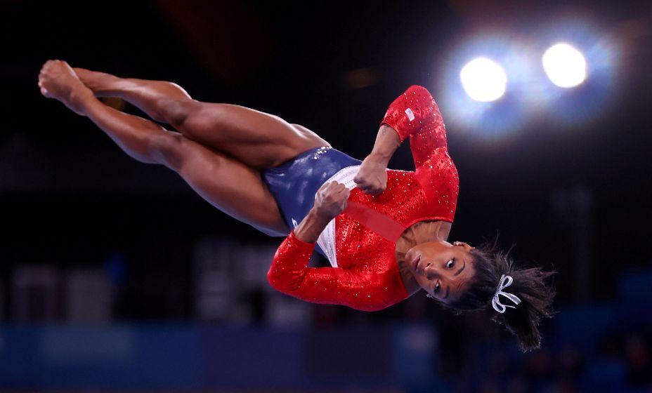 Симона Байлз стала третьей в последнем испытании женской гимнастики на Олимпиаде-2020. Фото: Reuters
