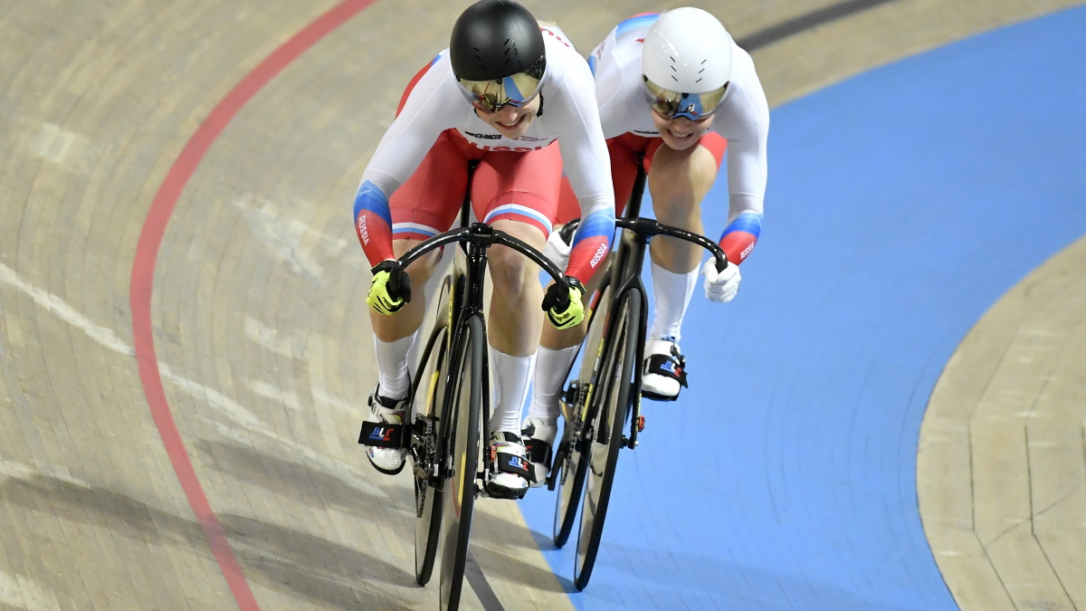 Анастасия Войнова и Дарья Шмелева выиграли бронзу на Олимпиаде. Фото: REUTERS