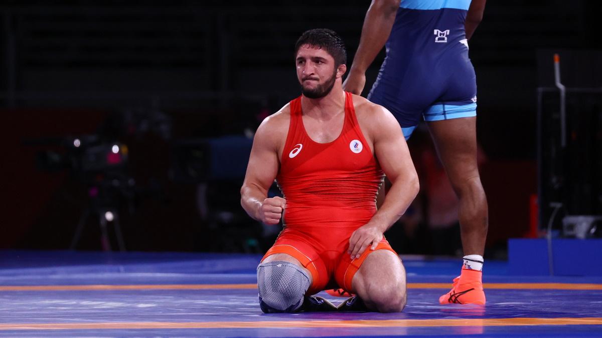 Садулаев уверенно прошел к финалу Олимпиады-2020 в Токио. Фото: REUTERS