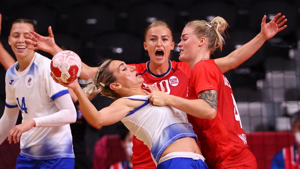 Россия билась с Норвегией за место в финале ОИ-2020. Фото: REUTERS