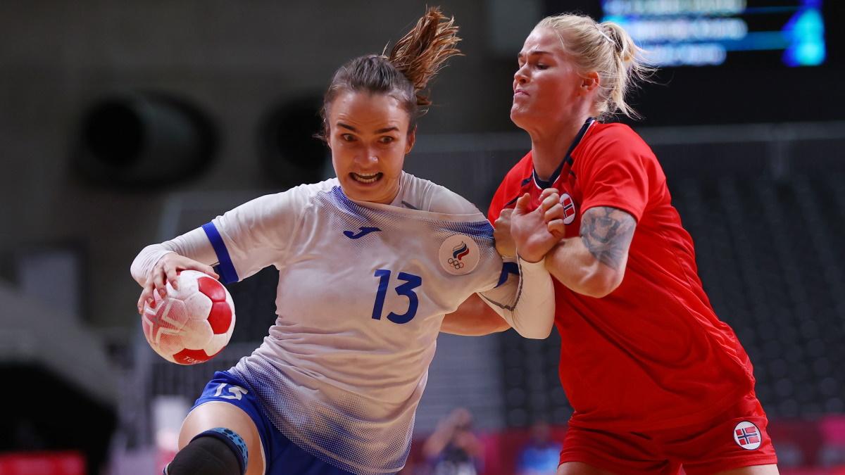 У российских гандболисток в полуфинале с Норвегией глаза горели. Фото: REUTERS