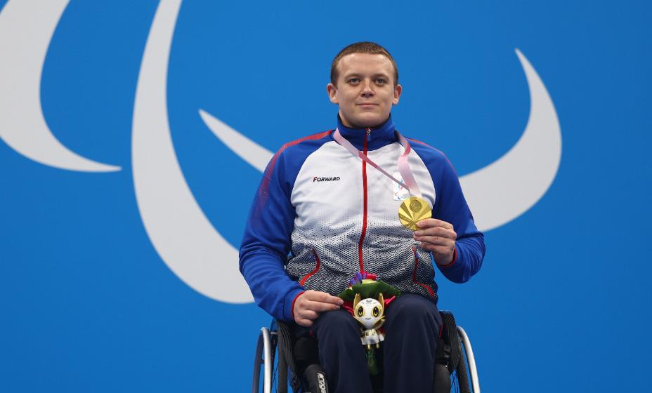 Пловец Андрей Граничка стал паралимпийским чемпионом Токио. Фото: Reuters
