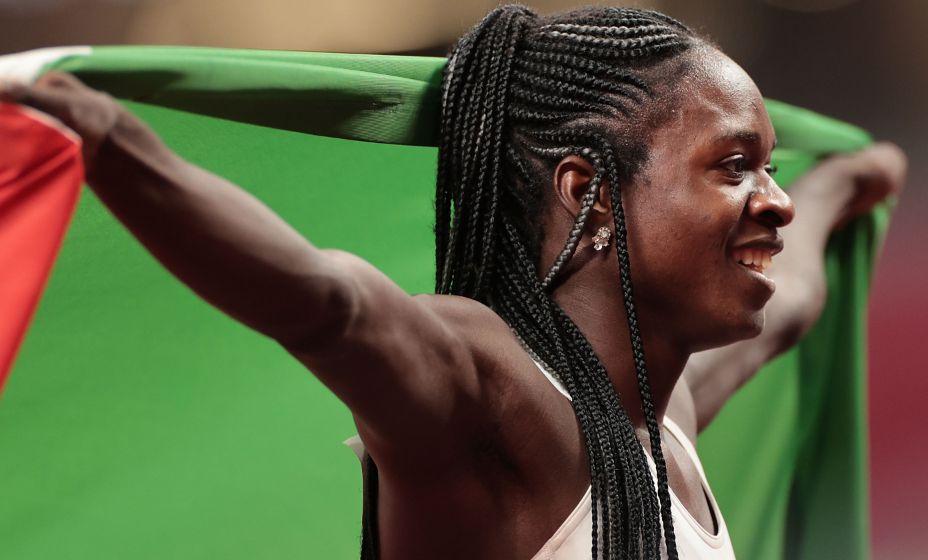 Кристин Мбома после завоевания серебра на Олимпиаде в беге подверглась жесткой критике из-за особенности организма. Фото: Global Look Press