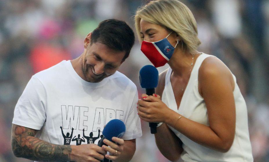 Лео Месси поблагодарил болельщиков за волшебный прием. Фото: Reuters