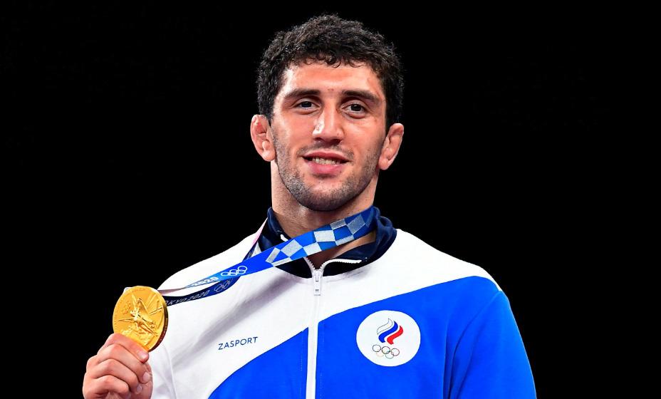 Российский вольник Заурбек Сидаков стал олимпийским чемпионом Игр в весовой категории до 74 кг. Фото: Reuters