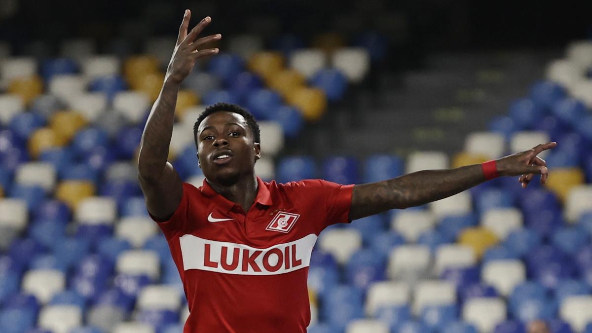 Промес дважды забил в Неаполе. Фото: REUTERS