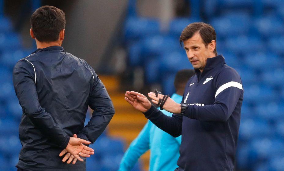 Главный тренер «Зенита» Сергей Семак не справился с «Челси». Фото: Reuters